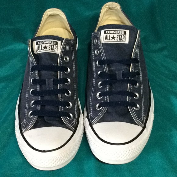 Size 12 All Star Converse shoes in Navy blue. New